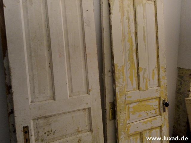 Türen sind das Material für die Bilderrahmen