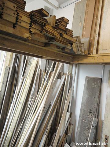 Holz für Bilderrahmen