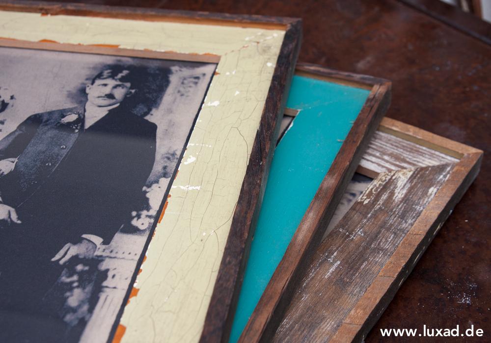 Vintage-Bilderrahmen mit Außenrahmen
