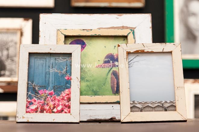 Fotokunst mit Holzbilderrahmen