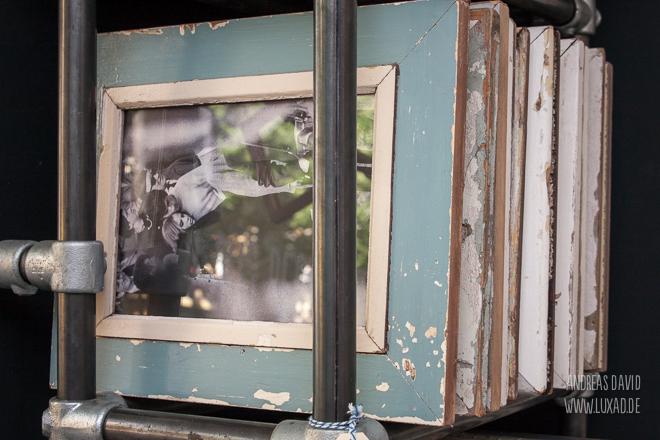 Fotorahmen aus Altholz