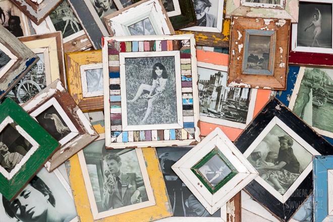Vintage Bilderrahmen von Luna Designs