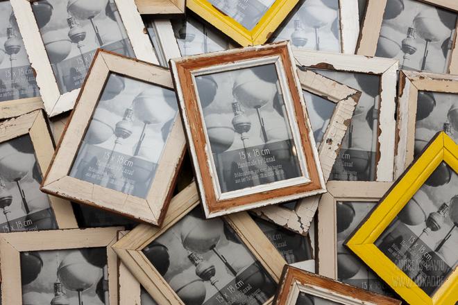Bilderrahmen aus Berliner Altbautüren