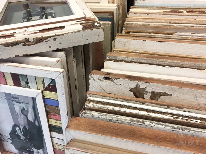 Bilderrahmen aus Altholz von Luna Designs