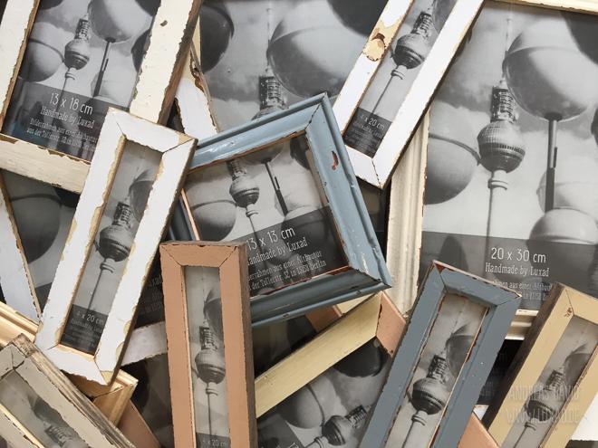 Bilderrahmen für Fotostreifen aus dem Photoautomat