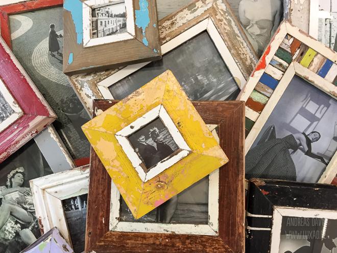 Vintage-Bilderrahmen für Lieblingsfotos